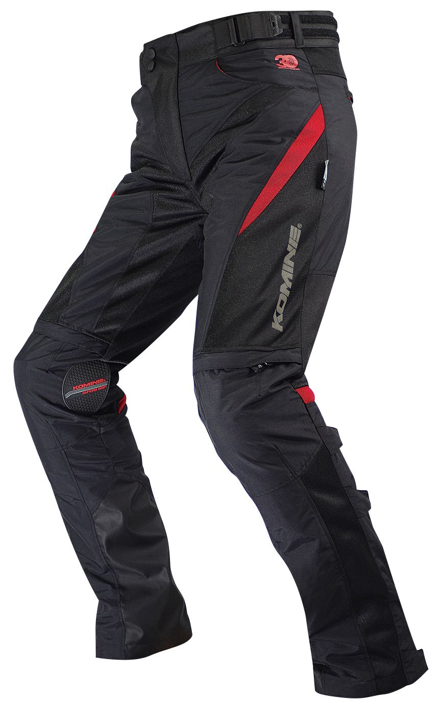 KOMINE PK-729 Protect Riding Mesh Pants 3D