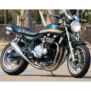 PMC(Performance Motorcycle Creative) [TYPE-R] ZEPHYR1100 Sistema de escape de acero inoxidable (Monac