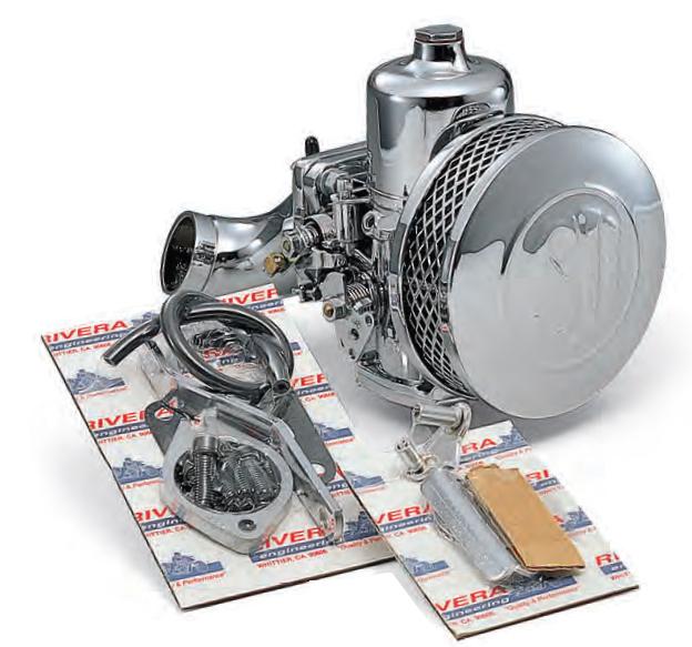 KIJIMA : Eliminator II SU Carburetor Kit for SHOVELHEAD & IRONHEAD  SPORTSTERS [HRE1041-0071]