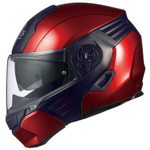 OGK KAZAMI [Shiny Red/Black] Helmet