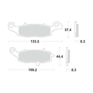 ACCOSSATO Brake Pads