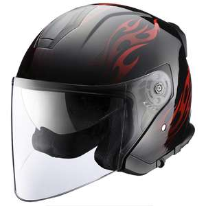 RIDEZ Casco HP T Flame System