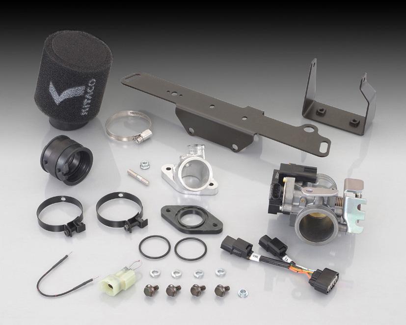 KITACO Big Throttle Kit