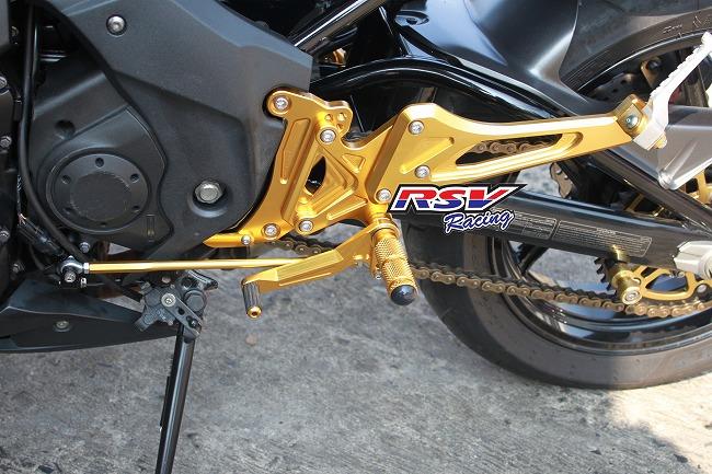Rsv Racing Rear Sets Adjustable Type For Er6 2009 11 Krer611