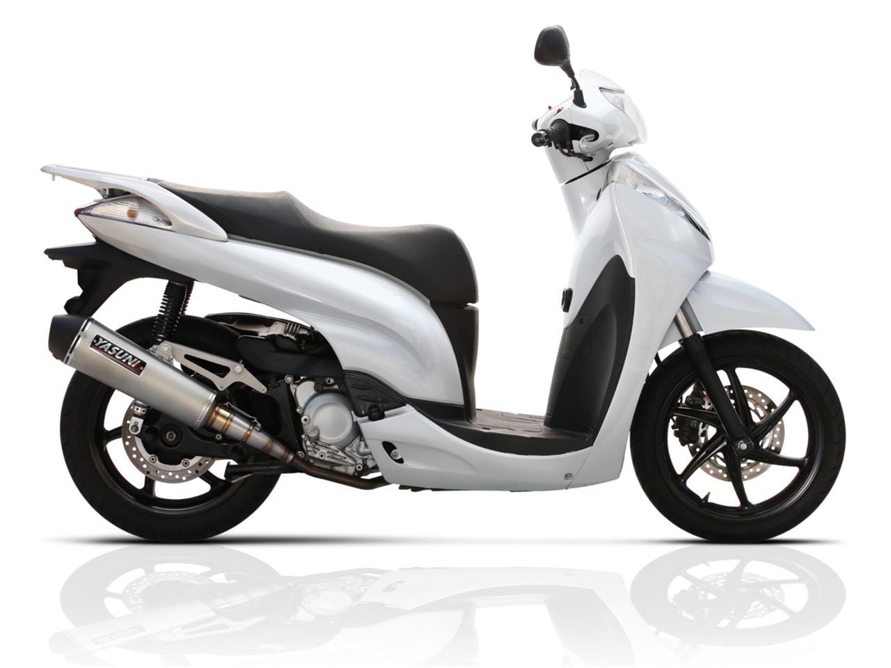 yasuni yasuni auspuff scooter 4 honda sh 300 ie tub654. Black Bedroom Furniture Sets. Home Design Ideas