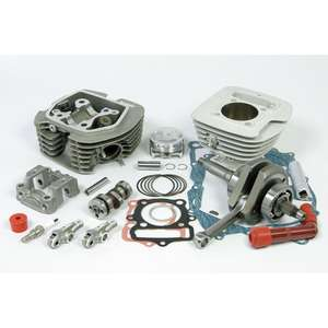 SP TAKEGAWA (Special Parts TAKEGAWA) Super Head + R Bore  &  Stroke Up Kit 130cc