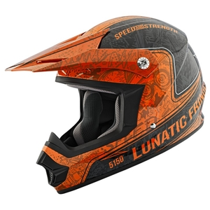 SPEED AND STRENGTH SS2400 LUNATIC FRINGE OFFROAD HELMET
