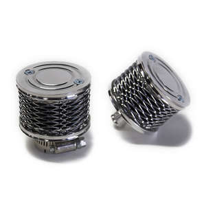 MOTOR ROCK Billet Breather Filter