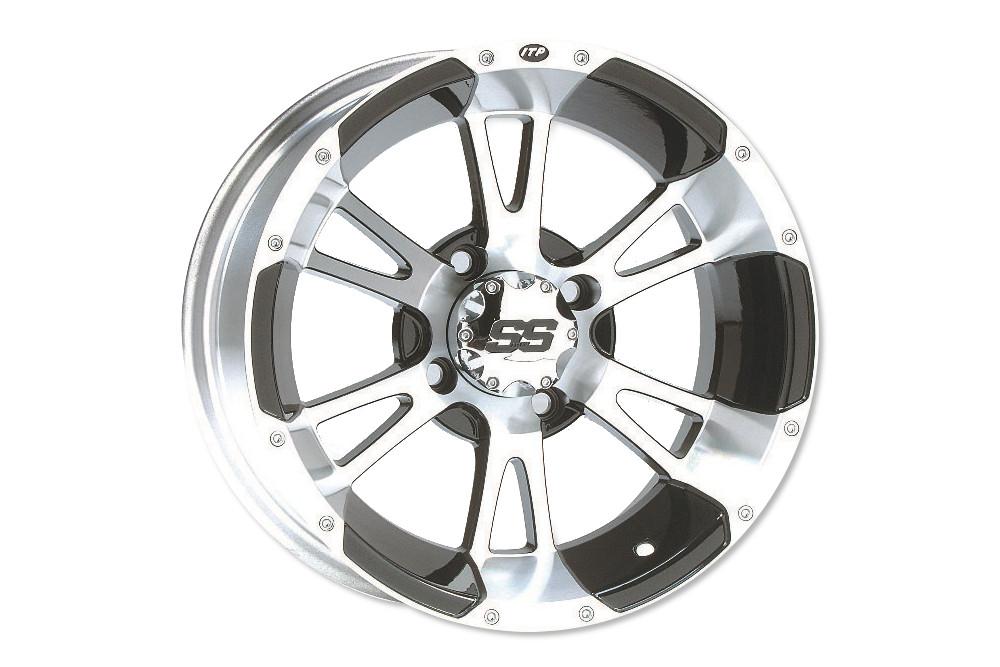 ITP 9 x 8 SS112 Aluminum Alloy Sport Rim Wheel New!