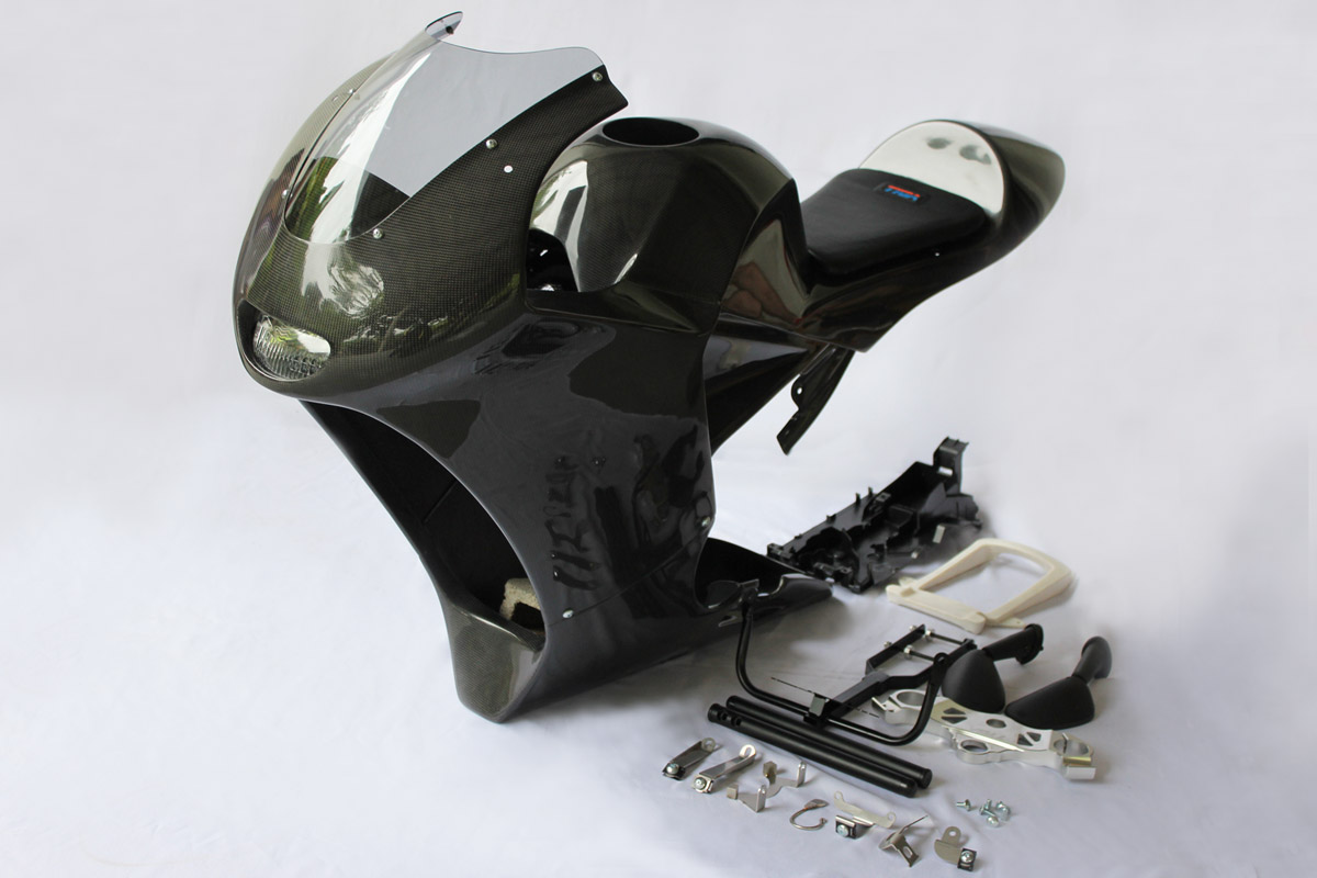 Full Cowl Set (Carbon) MRX MSX125 GROM