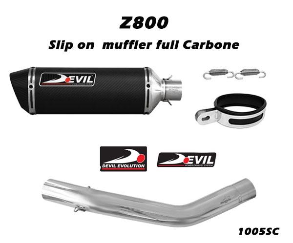 DEVIL EVOLUTION Slip-on w/ Titanium Replica Muffler D2.1