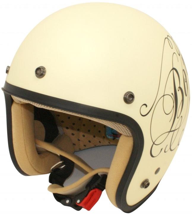 DAMMTRAX JET-D LOVE&ROCK Helmet