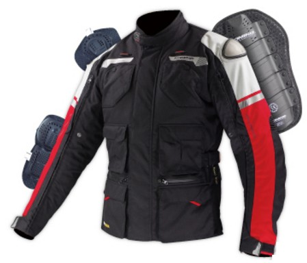 KOMINE JK-578 GTX Tourer Winter Jacket Titanium