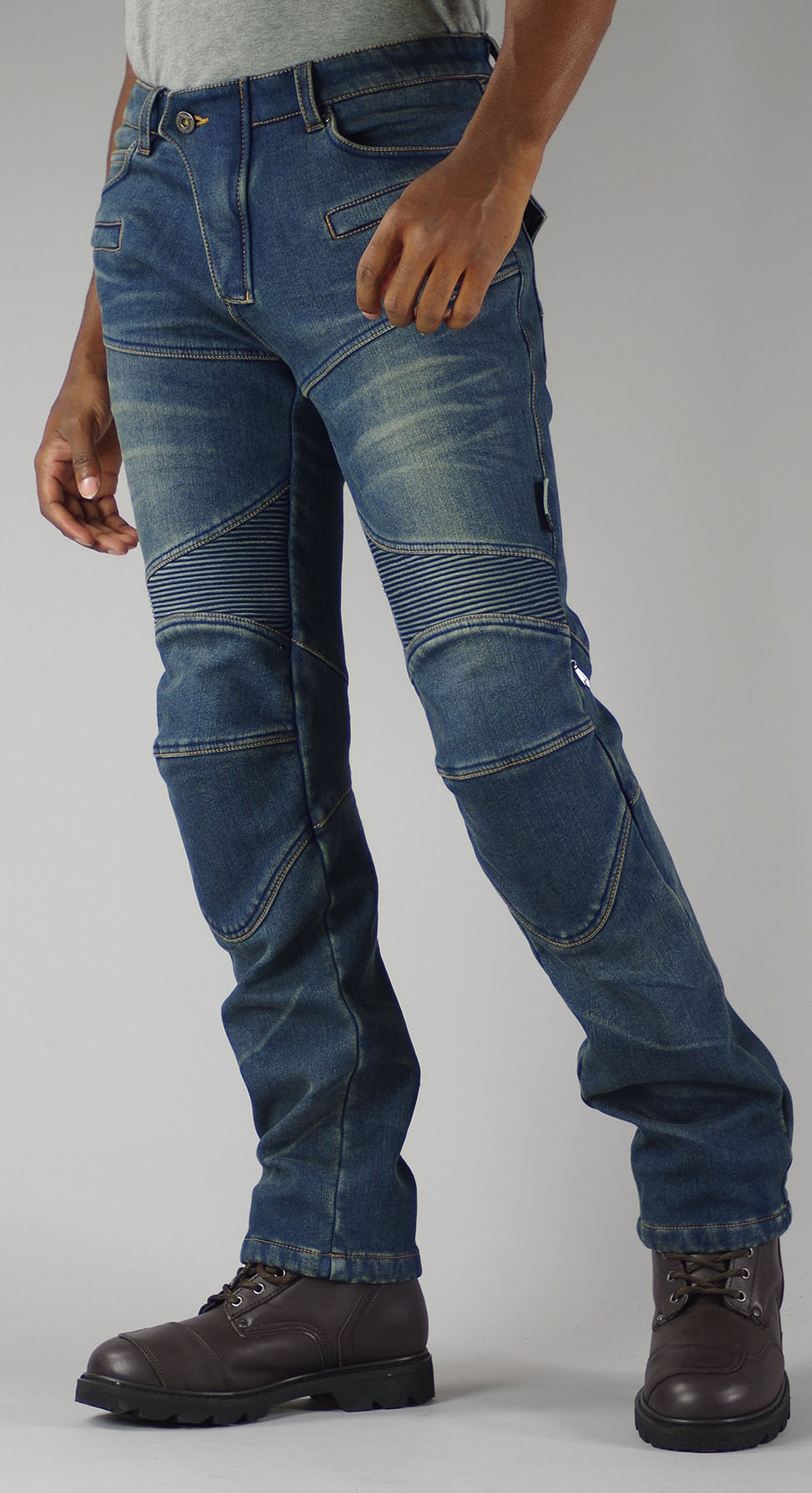KOMINE WJ-921S Super Fit Warm Denim Jeans Dames