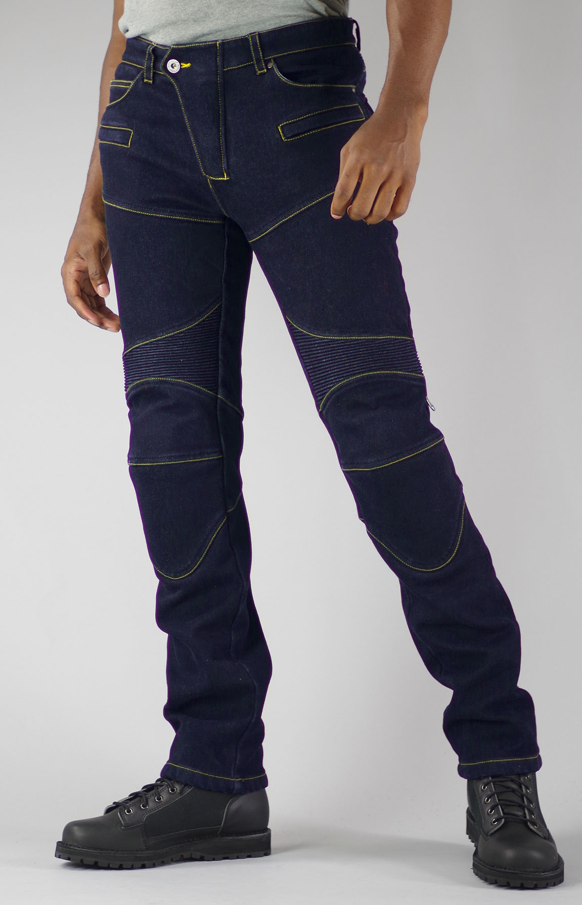 KOMINE WJ-921S Super Fit Warm Denim Jeans