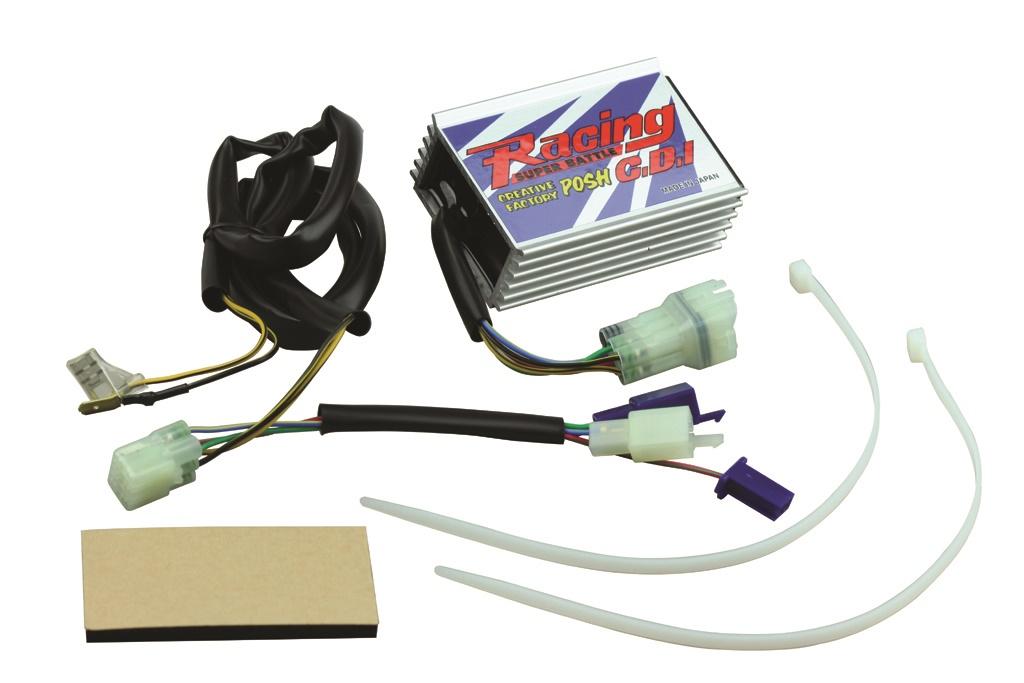 cf posh racing c d i super battle 285060 rh japan webike net Moped Ignition Wiring Diagram 110Cc Cdi Wiring Diagram