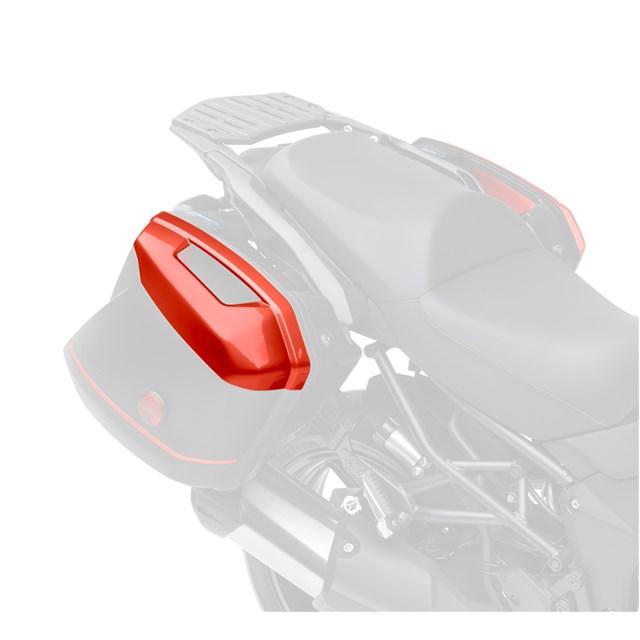 KQR (TM) 28L 硬式馬鞍包/彩色面板組