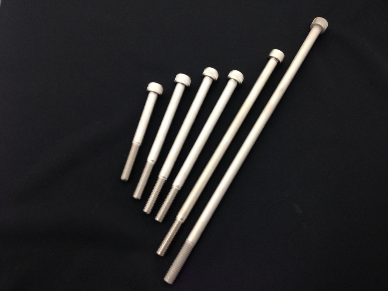 K-FACTORY : Chromoly M10 Cap Bolt (Electroless Nickel Plating) [000EZET001Z]