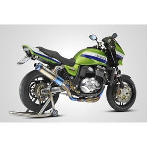 K-FACTORY FRC Titanium Full Exhaust System UP Type Single Silencer