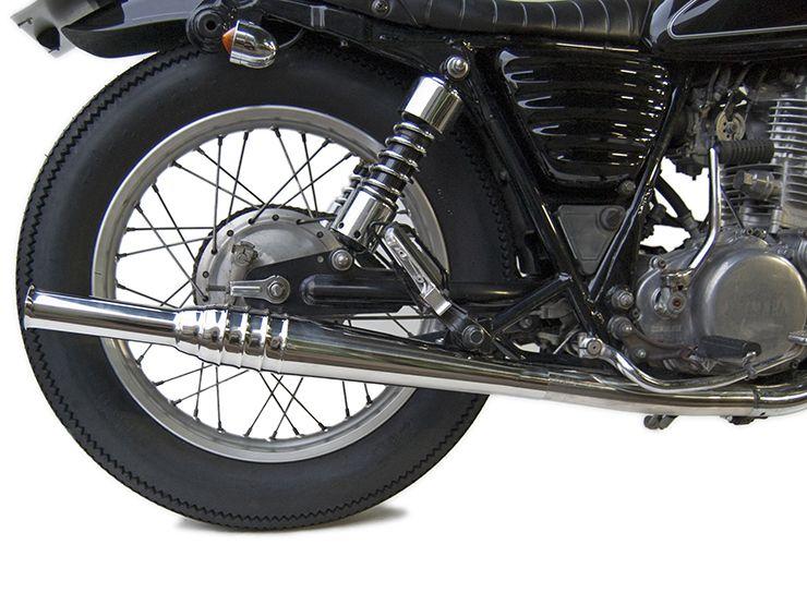 MOTOR ROCK 69 Trumpet Slip - On Exhaust