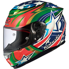 OGK RT-33 ACTIVE STAR Green Helmet