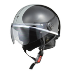 LEAD Half Helmet with O-ONE Shield