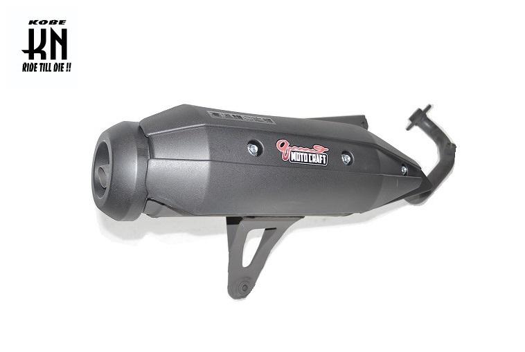Sport muffler 全段排氣管 原廠外觀【Qmotocraft】