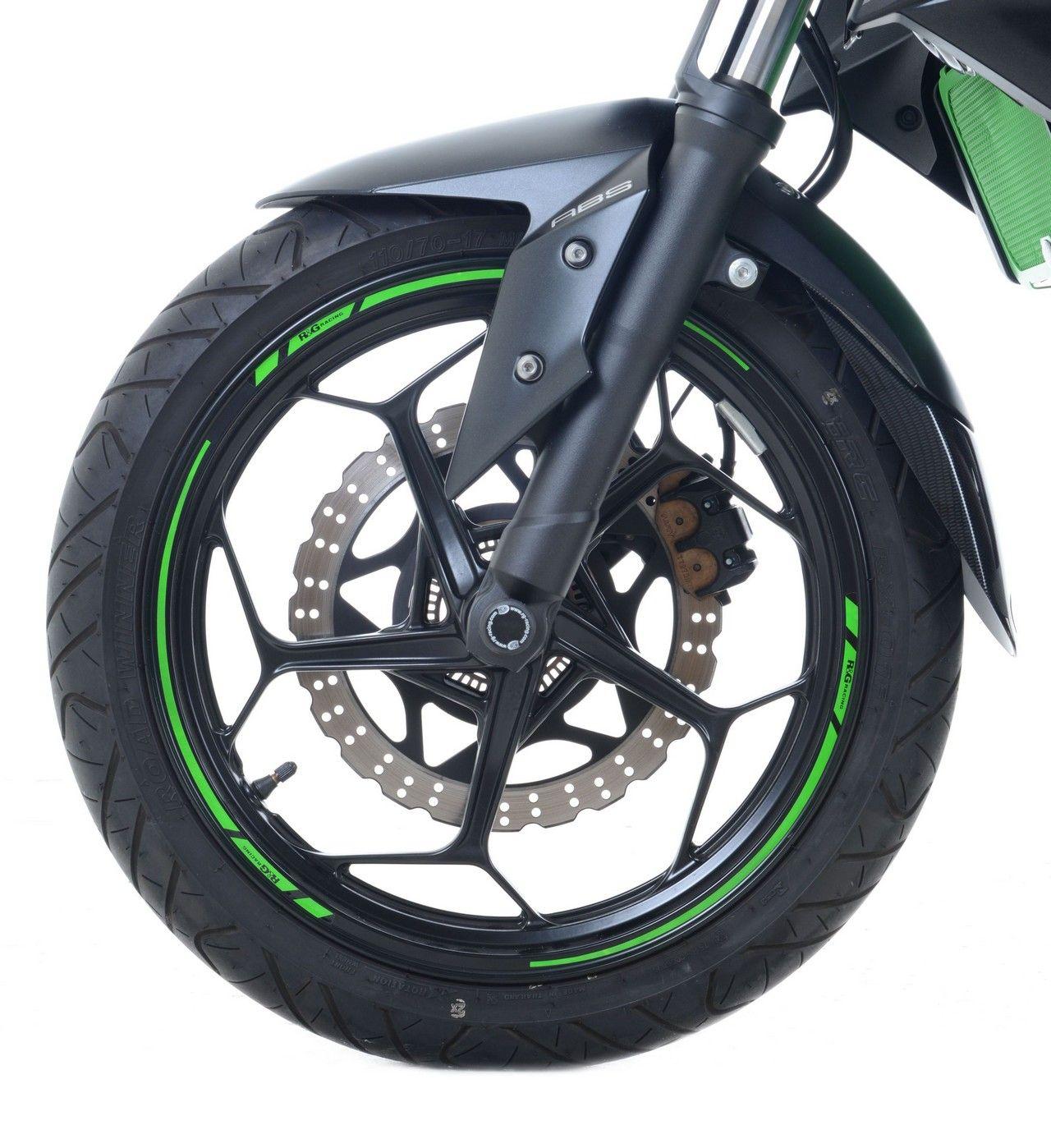 16-Piece 摩托車輪圈貼紙