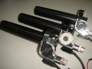 STAGE6 加大化油器用 快速油門套件 (黑色)