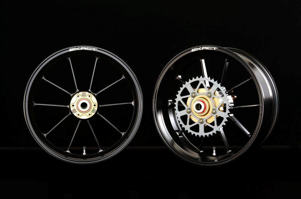 EXACT II  RACING 10 全鍛造鋁合金輪框