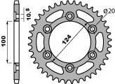 ACB 37齒鋼製後齒盤/ 520鏈條