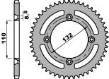 ACB 44齒鋼製後齒盤/ 530鏈條