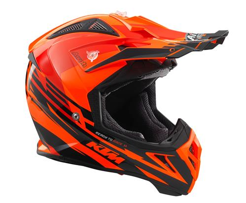 KTM AVIATEUR 2. 2 CASQUE ORANGE