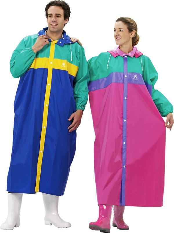 SAN-HO Front Opening Nylon Rain Suit t