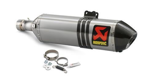 AKRAPOVIC 鈦合金排氣管尾段
