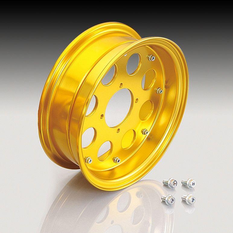 KITACO 10 - inches Aluminum Wide Wheel Half set