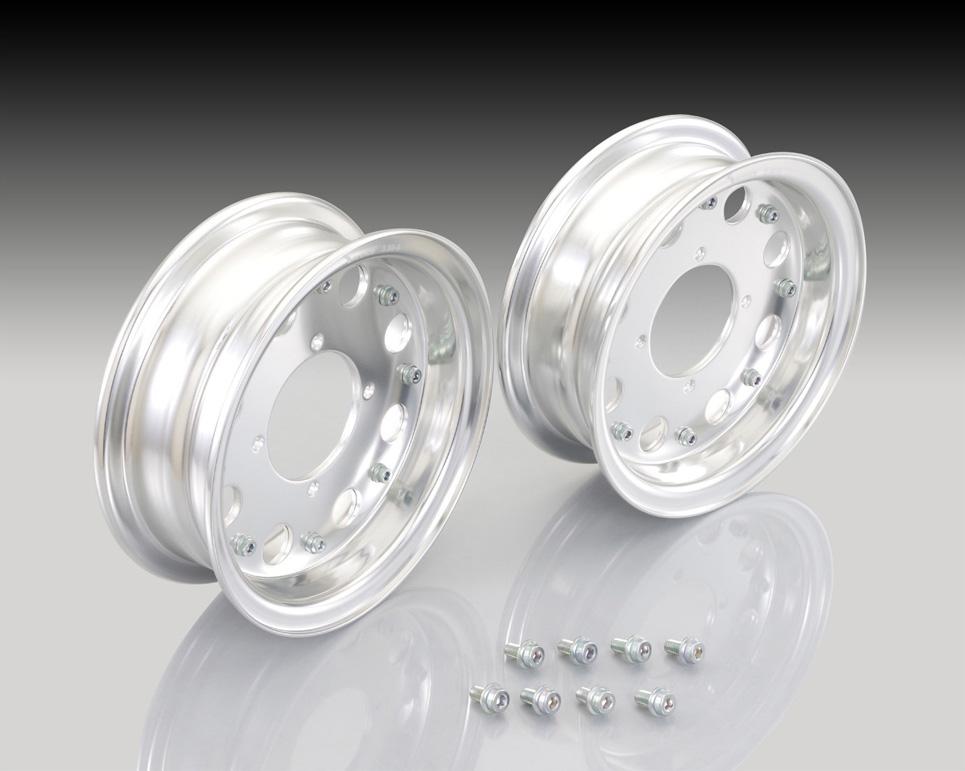KITACO 8 - inches Aluminum WheelsSet ( Standard )