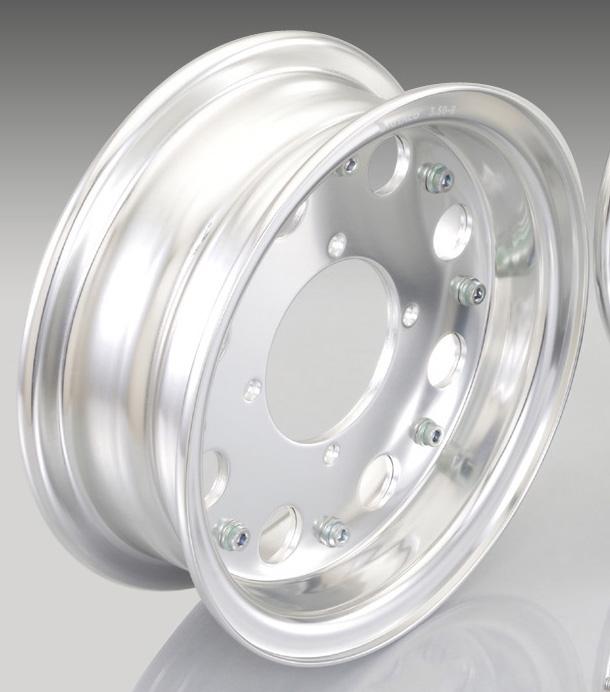 KITACO 8 - inches Aluminum Wheels Half set ( Standard )