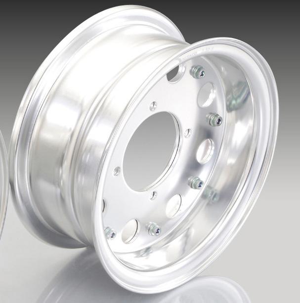 KITACO 8 InchWide aluminum wheelSet ( Half )