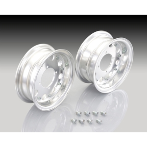 KITACO 8-inch Aluminum Wheel Set (Standard & Wide)