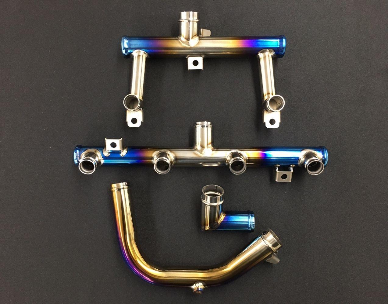 K-FACTORY Titanium Water Pipe Set