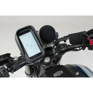 SW-MOTECH Universal GPS mount kit with navi case Pro S
