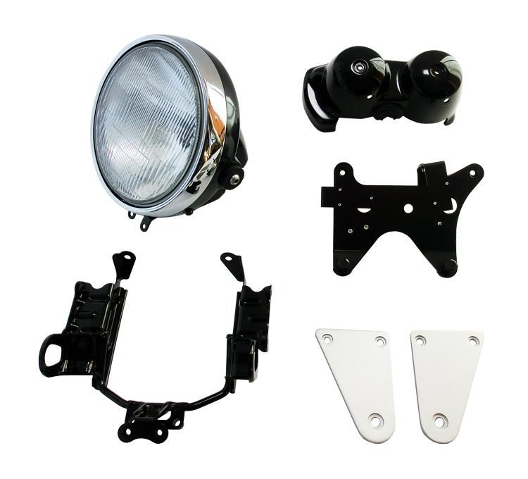 K's-STYLE Round HeadlightMeter Cover Kit