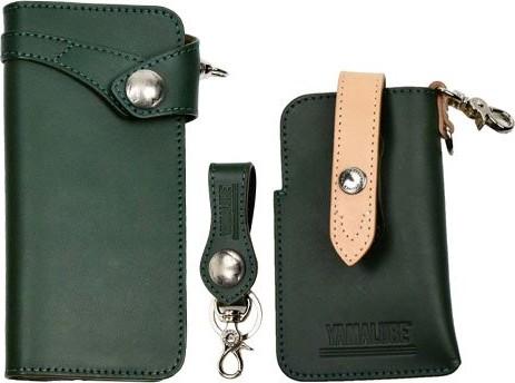 DEGNER×YAMALUBE Adventure 手機套、鑰匙圈、錢包組套