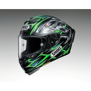SHOEI X-14 YANAGAWA5 [TC-4 Verde / Nero] Casco