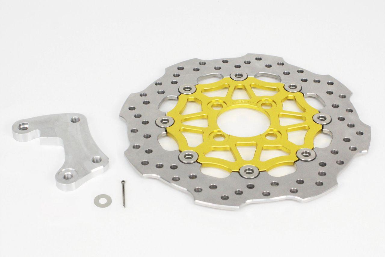 Larger full floating rotors - Kawasaki Z125 Forum