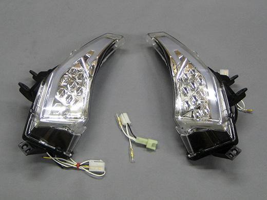 LED 前流動式方向燈 L/R