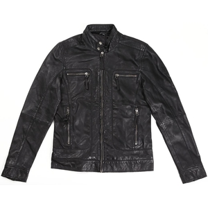 RIDEZ CLUBS Leather Jacket
