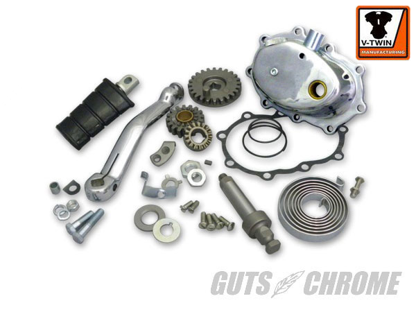GUTSCHROME V-Twin Kick Set for 4-speed