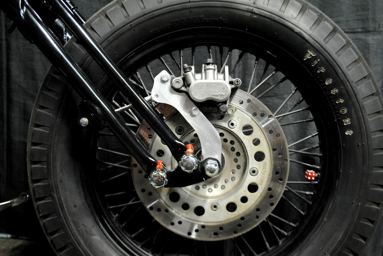 Parts Shop K&W Caliper Bracket Kit for Springer